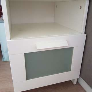 2for$10 Ikea bedside tables