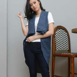 LONG CAPE DESIGNER / Mantel Panjang / Outerwear