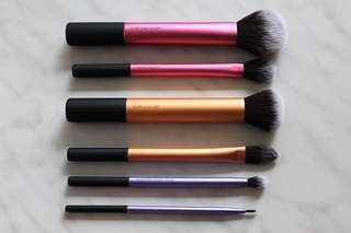 Real Techniques Sam's Picks Makeup Brushes