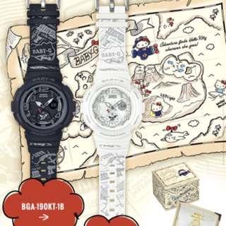 Casio Black Hello Kitty Watch