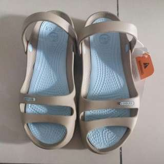 Crocs Cleo II Khaki-Sky Blue