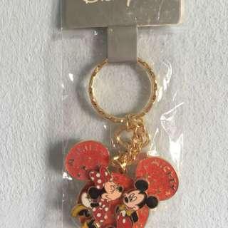 Disneyland Mickey & Minnie keychain