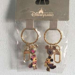 Disneyland Mickey & Minnie keychains