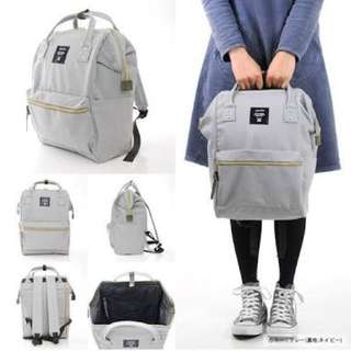 ANELLO Large Backpack (Light grey)