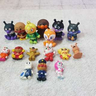 Anpanman figurines