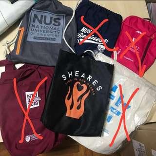 NUS Open House 2018 Goodie Bag