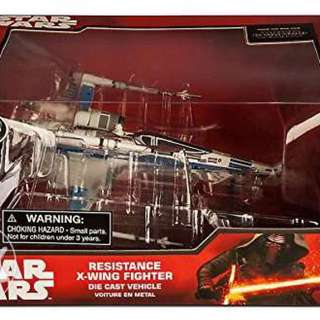 Disney Star Wars X-Wing Fighter Diecast Vechicle