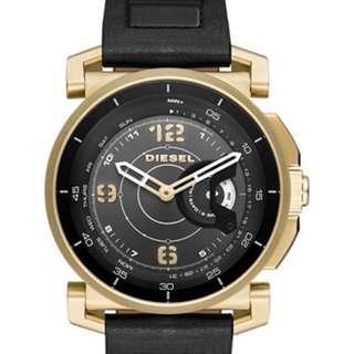 DieselOn Time Hybrid 手錶 smart 復古 金色 情人 男朋友