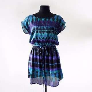 F21 Printed dress