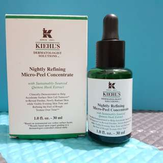 Repricing : Kiehls Nightly refining Micro peel concentrate