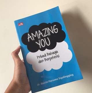 Buku Motivasi : Amazing You, Pribadi Bahagia dan Berpotensi