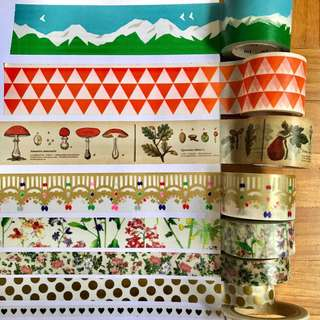 8 Washi Tapes (set)