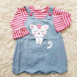 Cute Baby Casual Cat Stripe