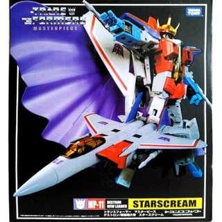 Transformers Masterpiece MP-11 : Starscream (Reissue)