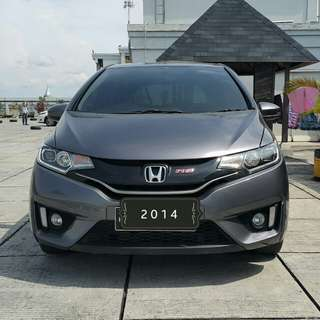 Honda New Jazz RS 1.5 at 2014 silver stone