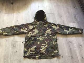Carhartt Camo Jacket 迷彩抓毛外套 Size L Supreme Off White North Face Yeezy Bape Aape