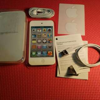 Apple iPod touch 4 White BNOB minus Baterai Drop