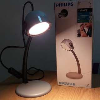 全新 正貨 Philips 飛利浦 67413 Dyna LED Reading Lamp 檯燈 書房燈 書檯燈 床頭燈