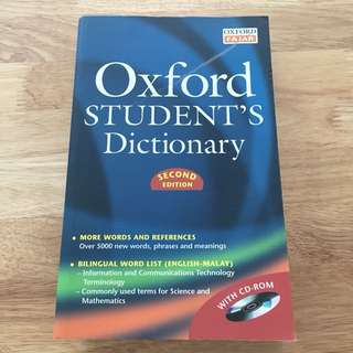 Oxford Student's Dictionary Second Edition