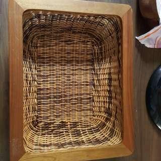 Rattan Basket for pet