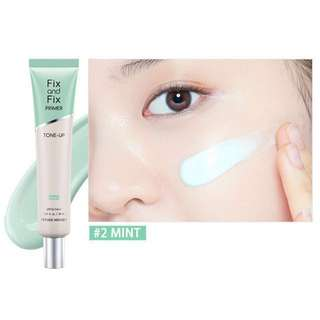 Etude House Fix and Fix Primer Tone-up in Mint