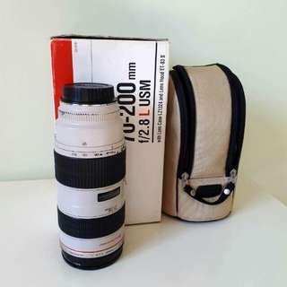 Canon 70-200 f2.8L