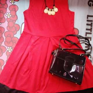 Dress 3eight Merah ori dari Matahari