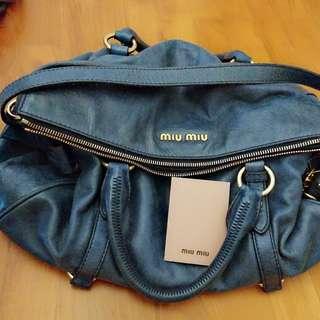 Miu miu large bow bag in good condition