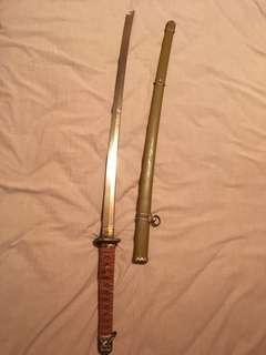 日軍九八式軍刀 武士刀 Katana Sword