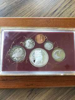 Singapore 1984 Proof Coin Set