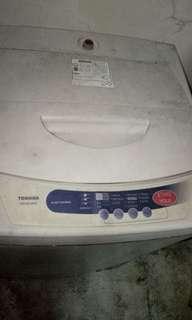 WASHING MACHINE TOSHIBA 6KG