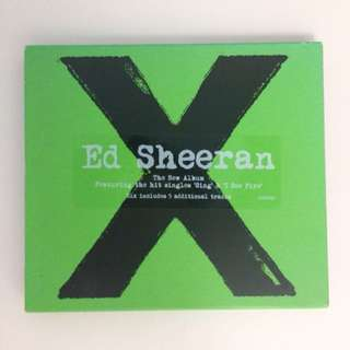 x (multiply) - ed sheeran album