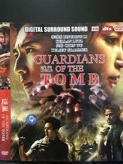 Dvd English movie, Guardians Of The Tomb