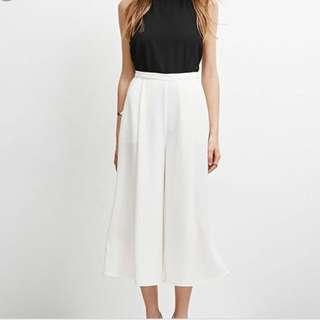 temt white culottes