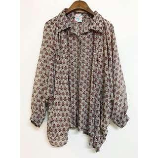🚚 復古飛鼠袖襯衫