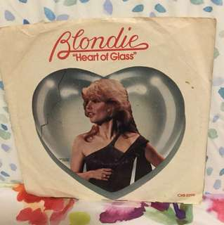 "Blondie - 7"" vinyl record single - rare Canada pressing"