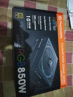 Power supply ThermalTake RGB 850watts 80+gold