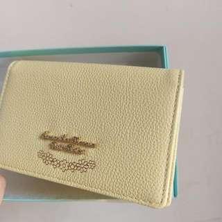 Samantha Thavava 春氛鵝黃名片夾 卡夾