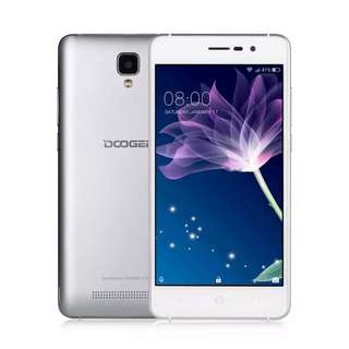 Original Doogee X10 Smartphone 3G Android 6.0 MTK6570 Dual Core Cell phone RAM 512M ROM 8GB 5MP 3360mAh 5.0 inch Mobile phones