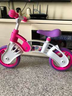 Very new balance bike