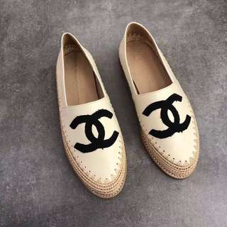 Chanel Leather Espadrilles Cruise 2018