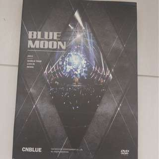(99%新) CNBLUE 2013 World tour live in Seoul BLUE MOON 2 DVD (台灣版)