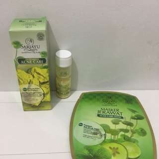 Sariayu intensive acne care