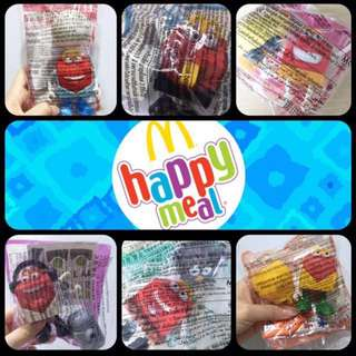 NEW! HAPPY Series Happy Meal Toys
