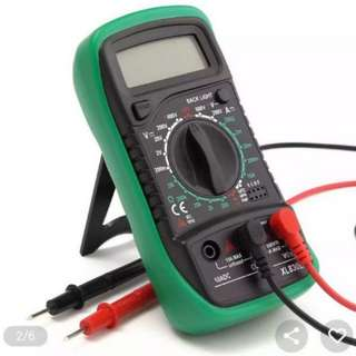 LCD Digital Multimeter Voltmeter [ Battery 🚫 Included! ]