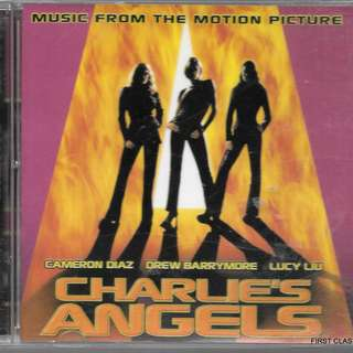 MY PRELOVED CD - MUSIC FROM THE MOTION PICTURE , CHARLIE'S ANGELS /FREE DELIVERY (F7Q))