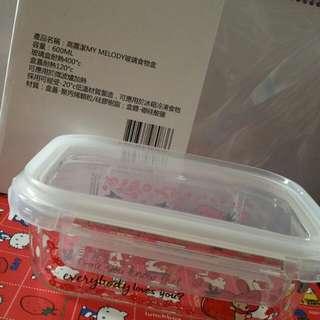 My Melody 玻璃食物盒