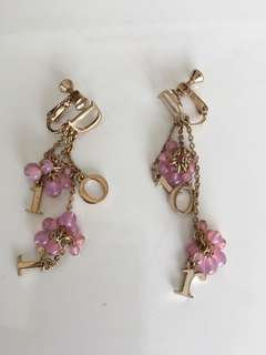 Authentic Dior Earings- non-piercing