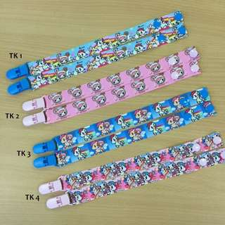 Pacifier clip for baby to clip things onto clothes so it wont drop, stroller strap to attach items to stroller