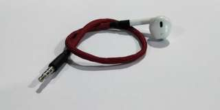 FPV Ear buds for Fatshark Goggles (Black/Red)
